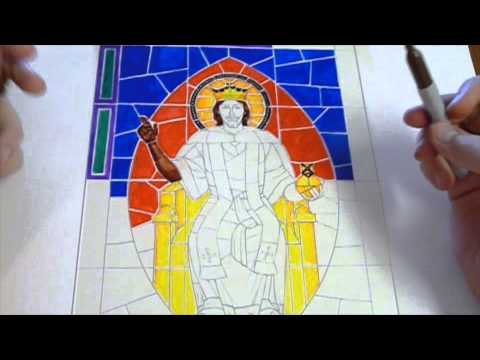 Stained glass demo