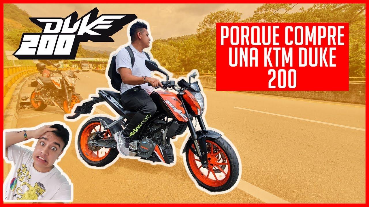 PORQUE COMPRE UNA KTM DUKE 200 😎😎😎