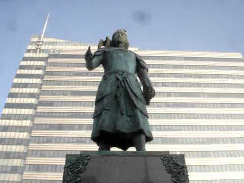 Marco Polo statue - Марко Пологийн хөшөө