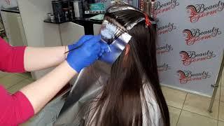 Зональное - блочное окрашивание волос.21