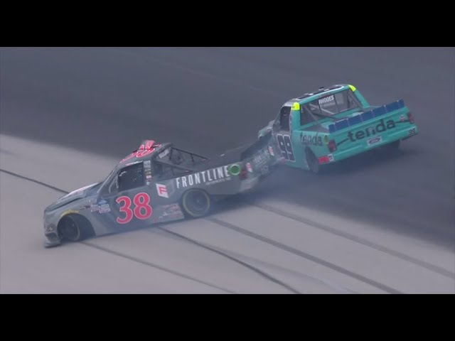 Drama in Texas | Ben Rhodes contact filled day at Texas Motor Speedway
