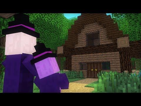 Witch & Villager Life X - Minecraft Animation