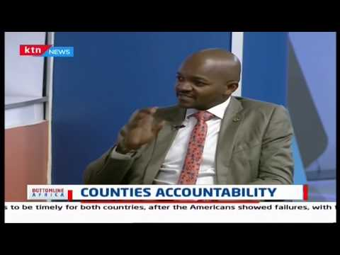 Discussion on counties accountability |Bottomline Africa