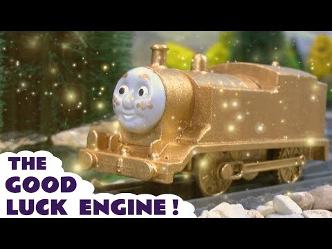 Thomas and Friends new train - The Good Luck Engine toy train story with the funny Funlings TT4U
