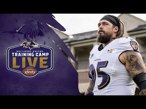 Training Camp Live Day 3 | Baltimore Ravens