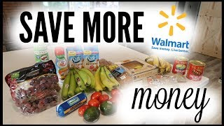 🤑HOW TO SAVE MORE MONEY ON GROCERIES ● HOW TO USE WALMART SAVINGS CATCHER ● GROCERY PICKUP HACK