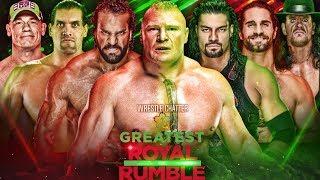 Greatest Royal Rumble Highlights Result Predictions Winners ! Roman Vs Brock ! 50 Man Royal Rumble !