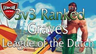 DUTCH - League of Legends - 3v3 Ranked - Graves, Nunu en Galio - Weirdhans NL