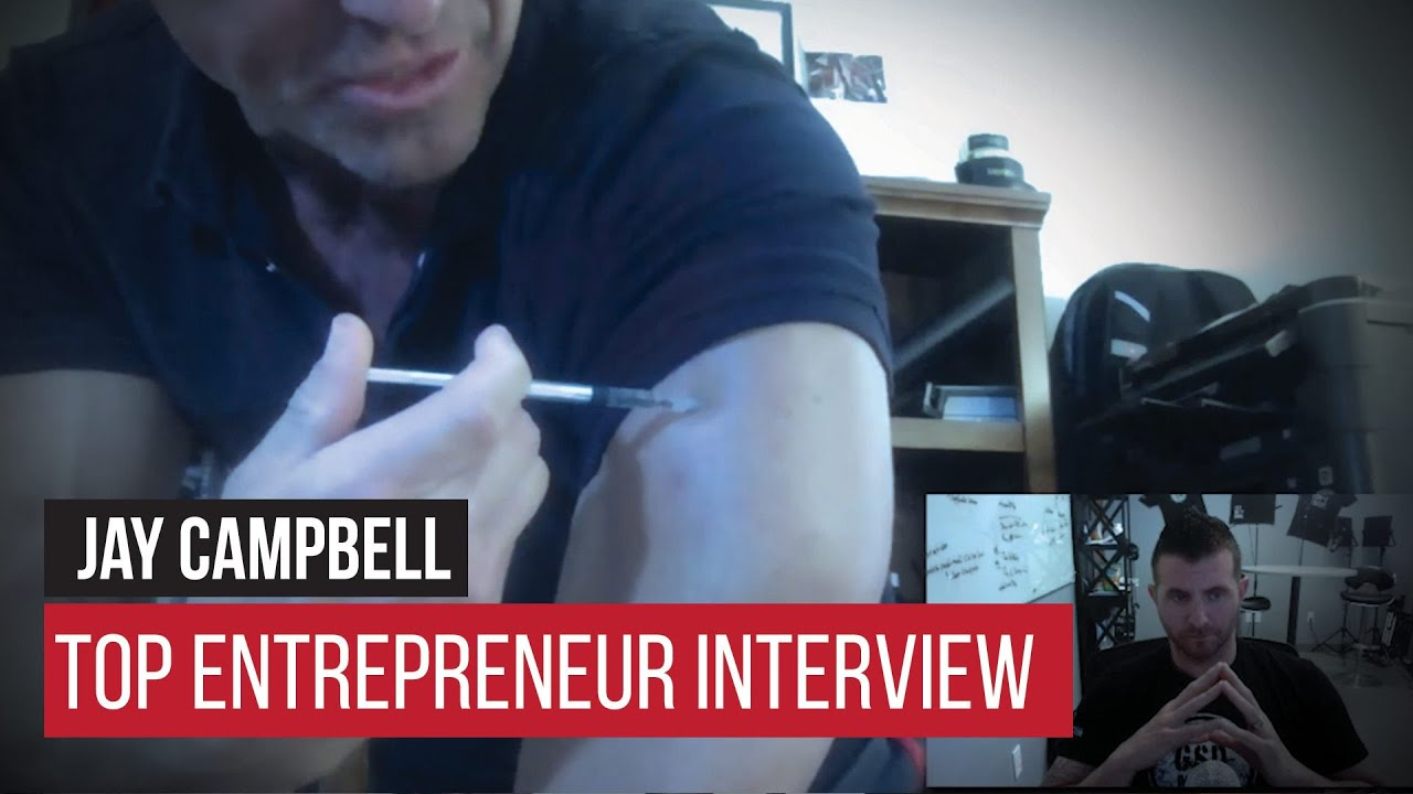 gsd top entrepreneur interview jay campbell on optimal gsd top entrepreneur interview jay campbell on optimal testosterone and health
