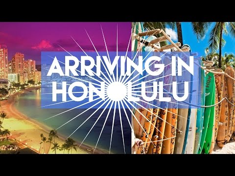 (ALMOST MISSED OUR FLIGHT!!) ARRIVING IN HONOLULU // MY TRAVEL TOUR GUIDE