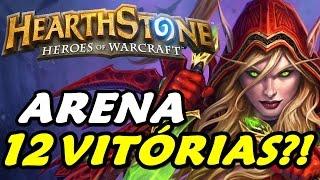 Arena Hearthstone #5 - CONSEGUIMOS 12 VITÓRIAS??