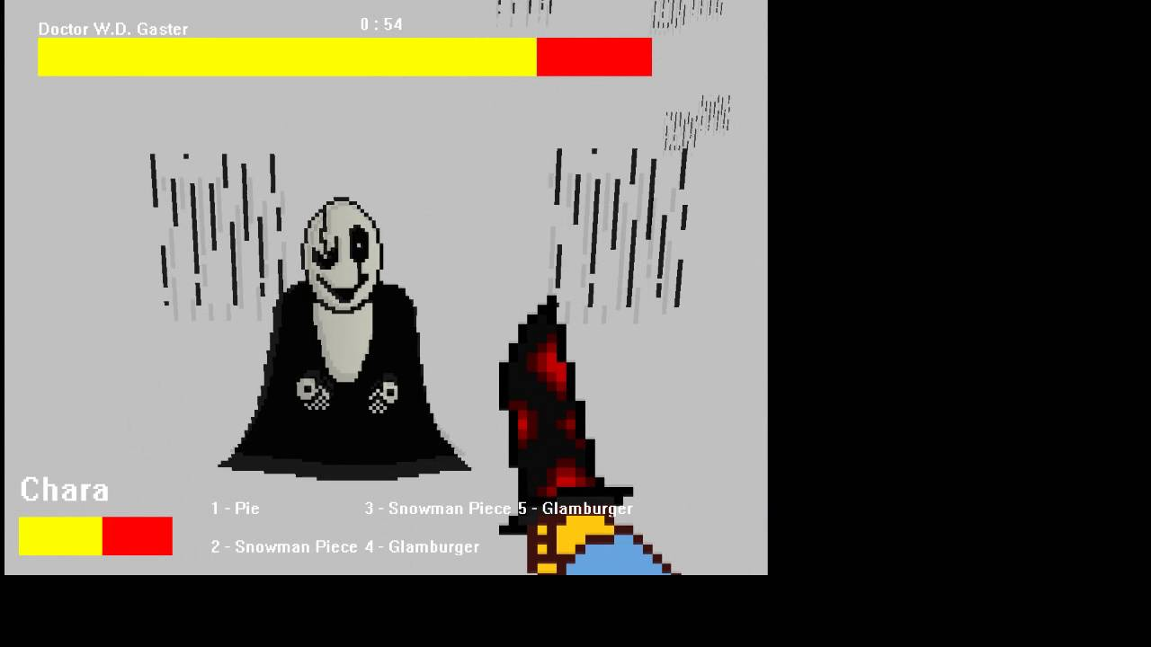 Undertale 3D sans + Gaster fights with download!