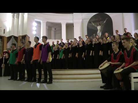 Menlo Park High School Choir. African songs.