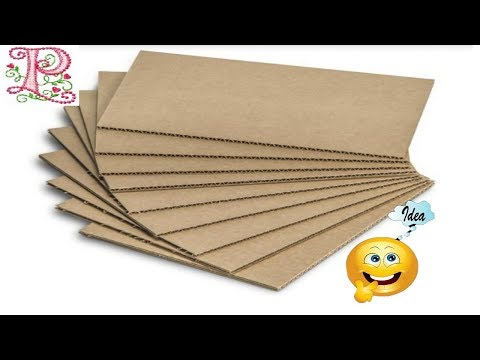 Cardboard box ideas    Organizer making at home    DIY Room Organization and Storage Ideas