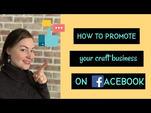 How to Promote Your Etsy Shop on Facebook. Advertise Craft Business for free on Facebook.