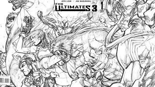 Appreciating Comic Book Art: Joe Madureira The Ultimates 3 issue #1 sketch