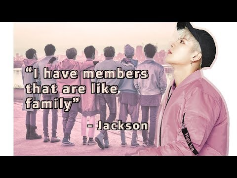 What GOT7 means to Jackson Wang