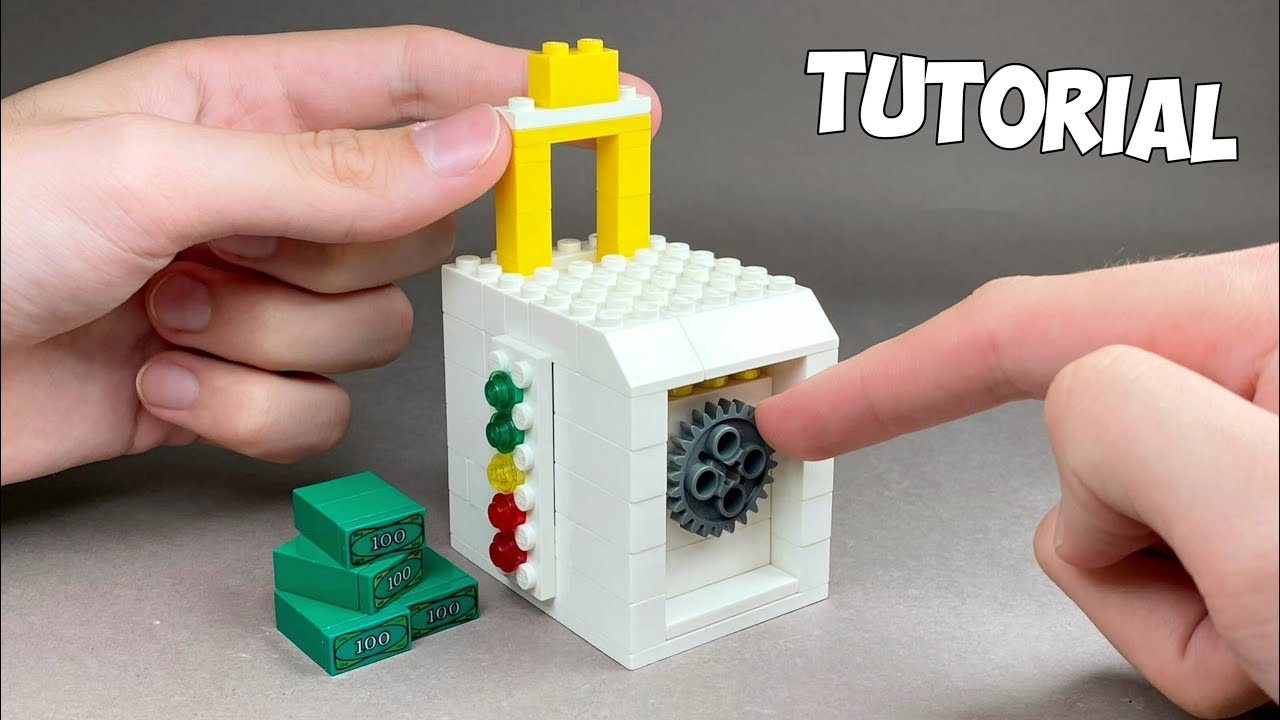 How to make a Lego Safe Puzzle Box / Lego Tutorial