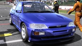 Need for Speed: Shift - Ford Escort RS Cosworth - Test Drive Gameplay (HD) [1080p60FPS]