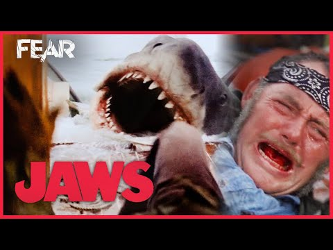 Quint Meets His End | JAWS (1975)