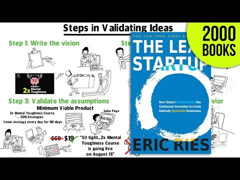 Lean Startup Book Summary - How To Build A Startup