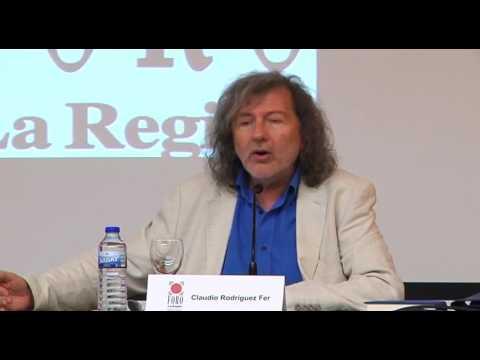 FORO LA REGIÓN CLAUDIO RODRÍGUEZ FER SOBRE JOSE ÁNGEL VALENTE  22 06 17 (COMPLETO)