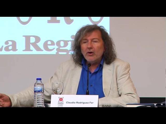 FORO LA REGIÓN CLAUDIO RODRÍGUEZ FER SOBRE JOSE ÁNGEL VALENTE  22-06-17 (COMPLETO)