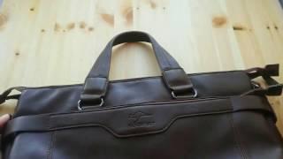 Отзыв , обзор на мужскую сумку с Алиэкспресс aliexpress