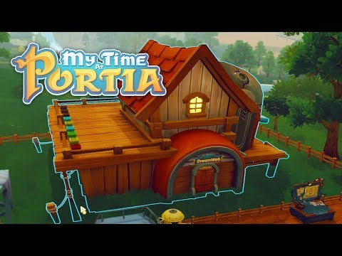 Moving House! - My Time at Portia (Alpha 5.0) – Part 139
