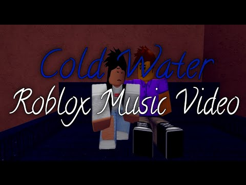 Cold Water-Roblox Music Video