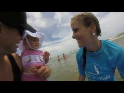 The Ladies of London take on the Tony Silvagni Surf School - Carolina Beach, NC