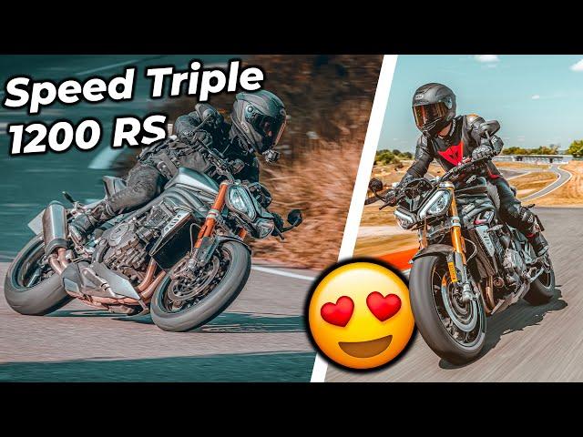 Ma nouvelle moto ? 😏 Essai Speed Triple RS 1200