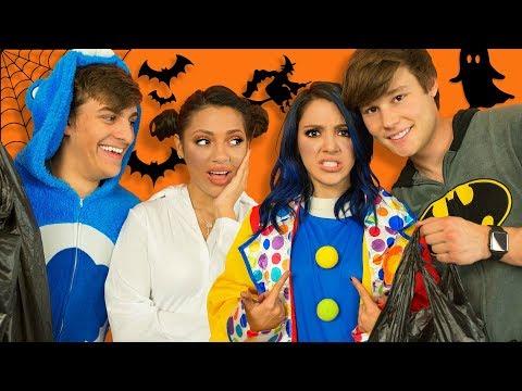 Boyfriends Buy Twins Halloween Costumes!! Niki and Gabi