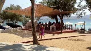 Krios beach camping Paros island