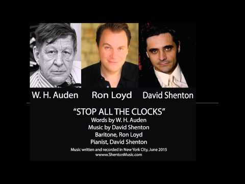 stop all the clocks Stop all the clocks how wh auden wrote prose to earn a living, and poetry to  live his life by robert fulford (the national post, 1 december.
