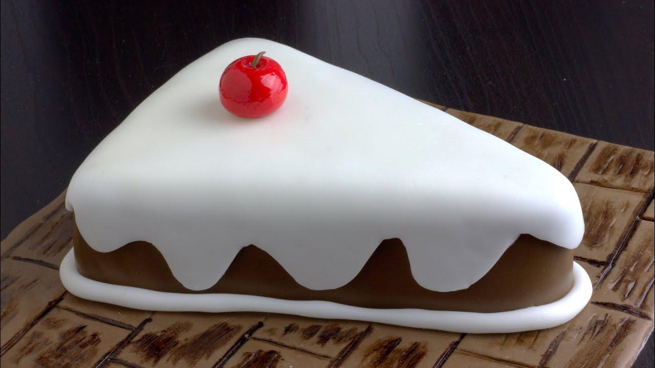 How To Make A Cake Slice Box