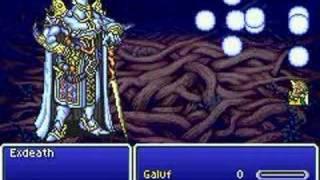 Final Fantasy V Advance - Galuf vs. Exdeath