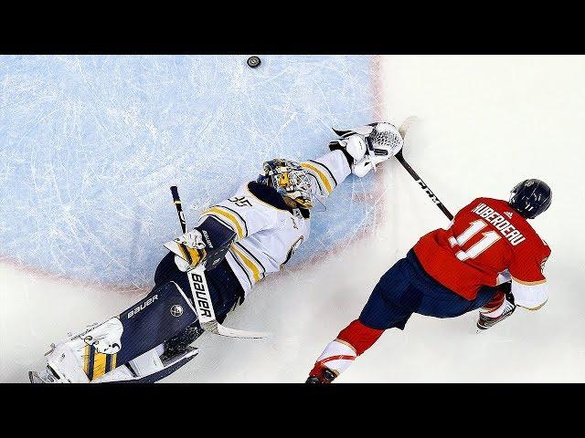 Jonathan Huberdeau dangles to score stellar goal on Sabres