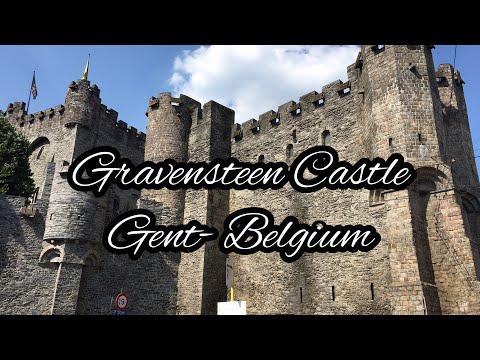 Gravensteen Castle, Castle Of The Counts Gent  Belgium/ Burg Gravensteen