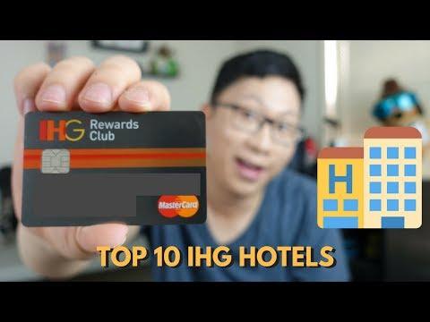 Top 10 IHG Hotel Properties to Redeem Free Night