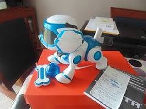 Overview Of Robotic Dog Puppy Teksta Blue Top Boys Toy For Christmas
