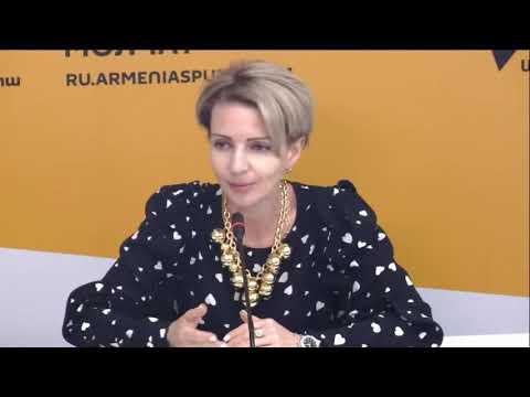 Пресс-конференция Торгового представителя России в Армении Анны Донченко