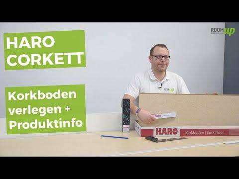 Haro Corkett - Korkboden verlegen und Produktinfo
