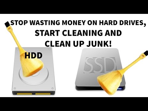 How to CLEAN UP your HDD/SSD