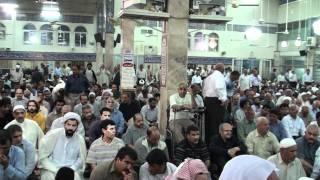 12-Jun-2010 Azaan at musalla - mosque at haram of Hazrat Bibi Syeda Zainab SalamullahiAlaihah