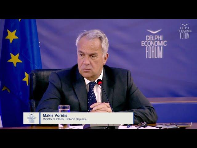 Ομιλία ΥΠΕΣ Μάκη Βορίδη στο 6ο Οικονομικό Φόρουμ Δελφών για την Περιφερειακή Διακυβέρνηση | 14/05/21