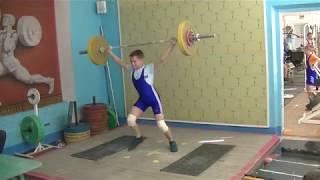 Маклаков Тимур, 14 лет вк 50 Рывок 60 кг