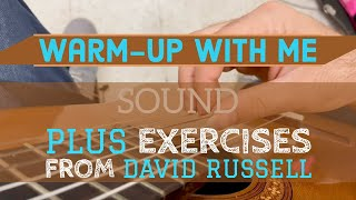 Warm-Up With Me | Lessons From The Road Ep.1 | David Russell Warm-ups