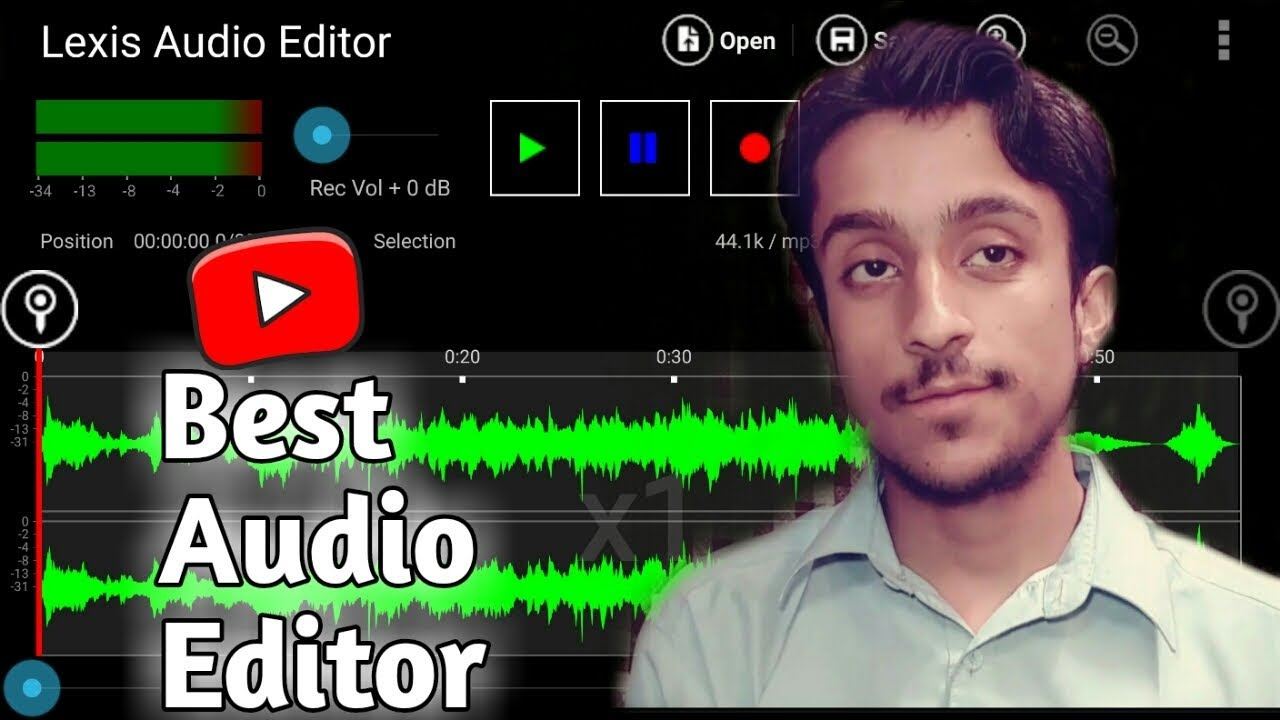 (HINDI-urdu) Best Audio Editor App For Android | lexis audio editor | best  audio editing app
