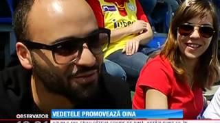 Vedetele promovează oina, sportul naţional al României